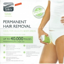 Removal Silk'n Silkn Glide IPL Hair Remover Grainer 40,000 Shots