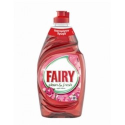 Υγρό Πιάτων Fairy Clean &Fresh Floral 450ml