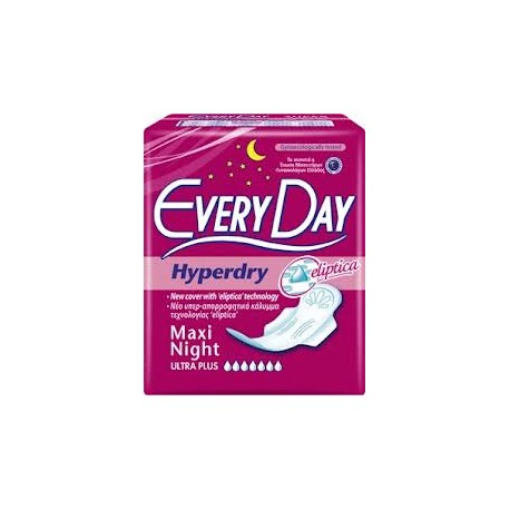 Every Day Hyperdry Ultra Plus Super Maxi Night 18τμχ