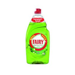 Fairy Υγρό Πιάτων Clean & Fresh Apple 900ml