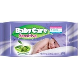 Babycare Sensitive Μωρομάντηλα 63 Wipes