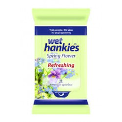 Wet Hankies Spring Flowers 15τμχ