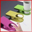 Durable Convenient New Arrival Office Table Desk Drink Coffee Cup Holder Clip Drinklip