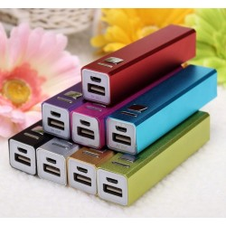 8 Colors Cell Phone USB 2600mAh Power Bank 18650 Battery Charger DIY Kit for iPhone 5s 6