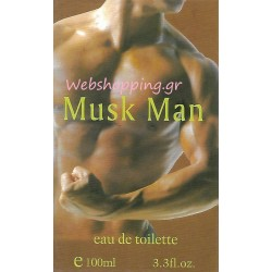 Musk Man Eau de Toilette 100ml